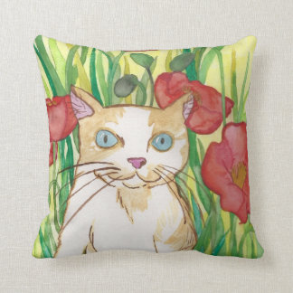 Between the Poppies Pillow