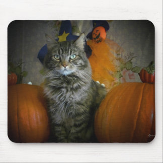 Between the Pumpkins Mouse Pad