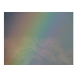 Between the Rainbow Colors Postcard