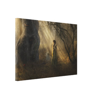 Between The Shadows - Canvas