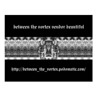 between the vortex vendor beautiful postcard