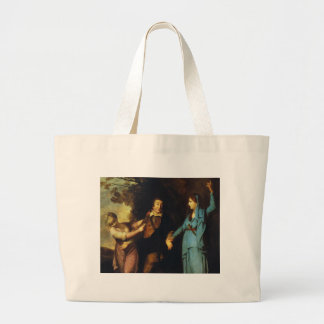 Between Tragedy And Comedy - David Garrick Canvas Bags