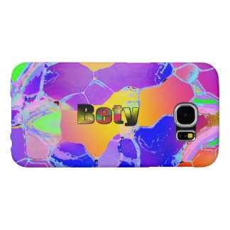 Bety Blue Transparency Galaxy covers