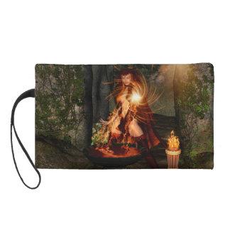 Beuatiful witch wristlet purses