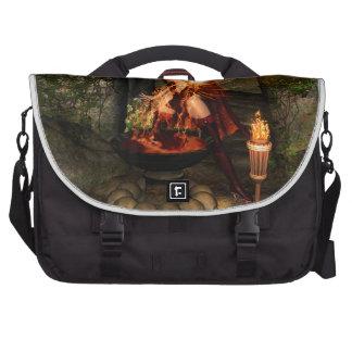 Beuatiful witch laptop commuter bag