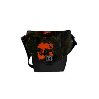 Beuatiful witch courier bag