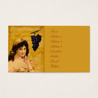 Beulah, Peel Me a Grape Business Card