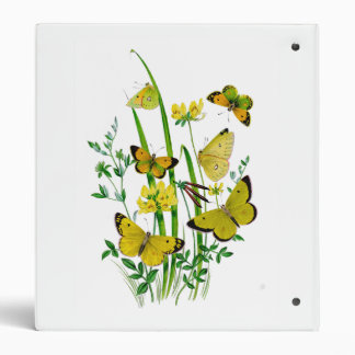 Beutiful Butterflies Binder