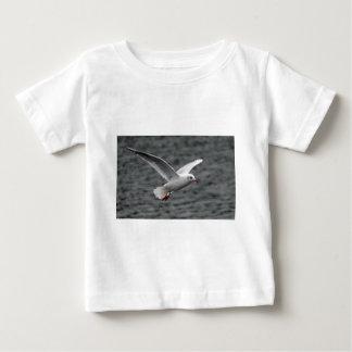 beutiful high flying seagull over alantic ocean tee shirt