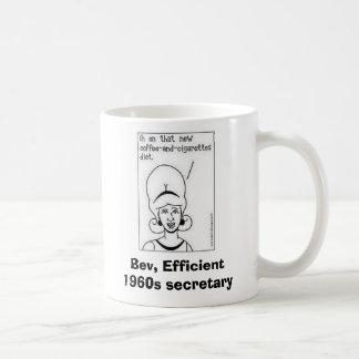 Bev coffee mug w border, Bev, Effi... - Customized
