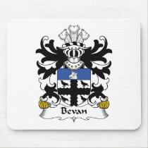 Bevan Family Crest Mousepad
