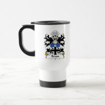 Bevan Family Crest Mug