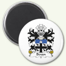 Bevan Family Crest Magnet