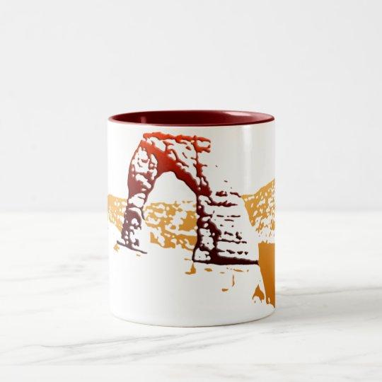 Beveled Delicate Arch Mug