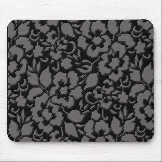 bevelled black lace mouse pad