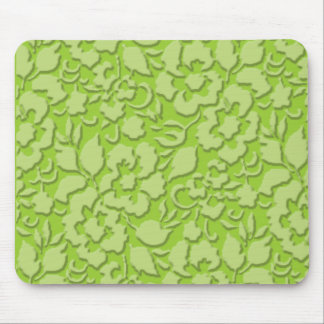 bevelled lace green mouse pad