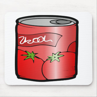 beverage can drink juice tomato mouse pad