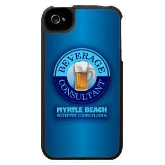 Beverage Consultant Myrtle Beach blue iPhone 4 Case