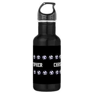 Beverage Container, Personalized, Soccer