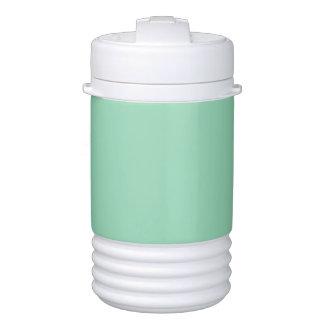 Beverage Holder: Mint Green Igloo Beverage Dispenser