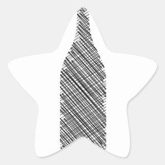 Beverage Star Sticker