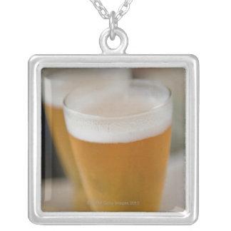 beverages cocktails drinks silver plated necklace