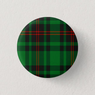 Beverdige Scottish Tartan Pinback Button