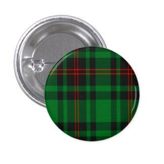 Beverdige Scottish Tartan Pinback Button