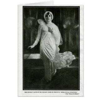 Beverly Bayne 1915 vintage portrait card