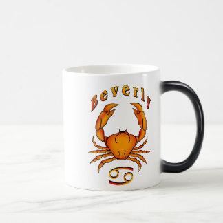 Beverly Cancer 11 Oz Magic Heat Color-Changing Coffee Mug