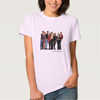 Beverly Hills 90210 Cast T-shirt- Women's Shirt