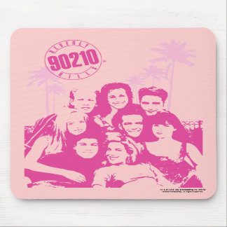 Beverly Hills 90210 - Cojín de ratón del molde Tapete De Ratones