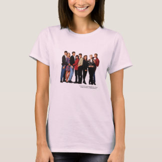 Beverly Hills 90210 echó a mujeres de la camiseta