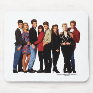 Beverly Hills 90210 echó el cojín de ratón Tapetes De Raton