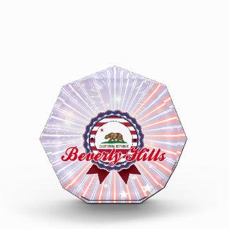 Beverly Hills, CA Acrylic Award