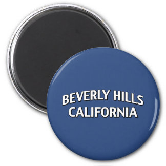 Beverly Hills California 2 Inch Round Magnet