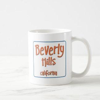 Beverly Hills California BlueBox Taza Clásica