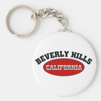 Beverly Hills, California Keychain