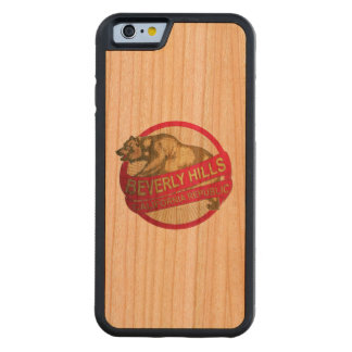 Beverly Hills California vintage bear iphone6 case