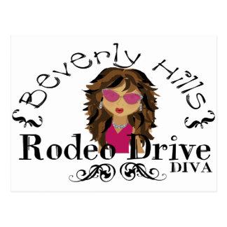 Beverly Hills Diva Postcard