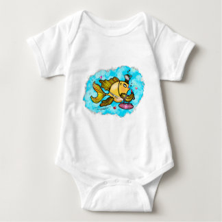 Beverly Hills Fish cute funny cartoon Infant Tee