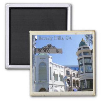 ¡Beverly Hills fresco, el Dr. Magnet del rodeo! Iman Para Frigorífico
