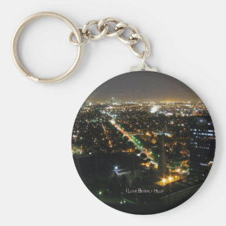Beverly Hills: I Love Beverly Hills Key Chain