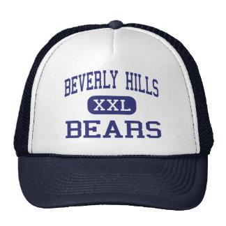 Beverly Hills lleva Darby superior medio Gorros Bordados