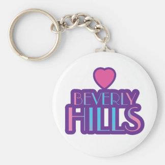 Beverly Hills Love Keychain