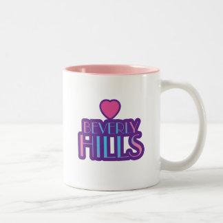 Beverly Hills Love Two-Tone Coffee Mug
