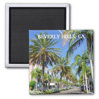 Beverly Hills Magnet! 2 Inch Square Magnet