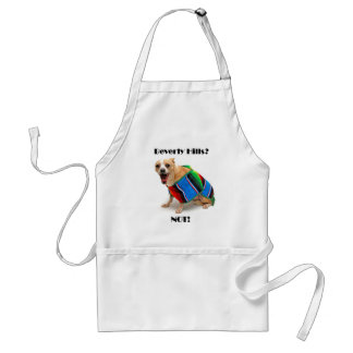 Beverly Hills? NOT! Adult Apron