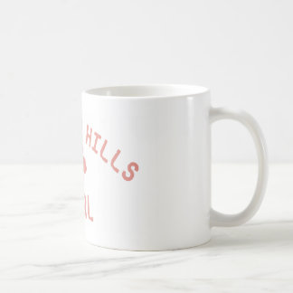 Beverly Hills Pink Girl Classic White Coffee Mug