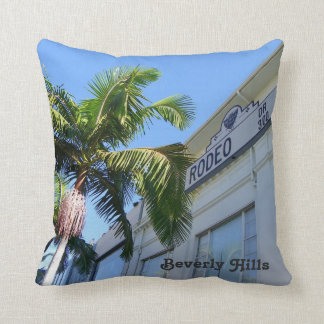 Beverly Hills/Rodeo Dr. Pillow! Throw Pillow